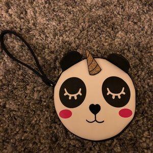 Betsey Johnson Unicorn Panda Wristlet